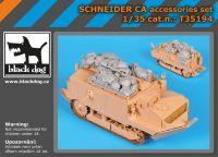 T35194 1/35 Schneider CA accessories set