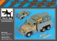 T35197 1/35 M35A2 Brush fire truck conversion set