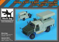 T35198 1/35 Dingo 2 GE C1 GSI conversion set