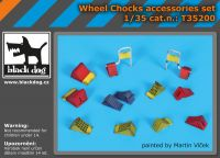 T35200 1/35 Wheel chocks accessories set