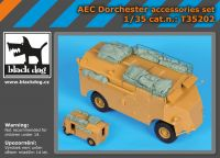 T35202 1/35 AEC Dorchester accessories set