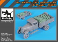 T35203 1/35 Gaz MM mOD.1943 accessories set