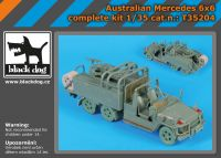 T35204 1/35 Australian Mercedes 6x6 complete kit