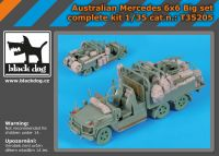 T35205 1/35 Australian Mercedes 6x6 complete kit Big set
