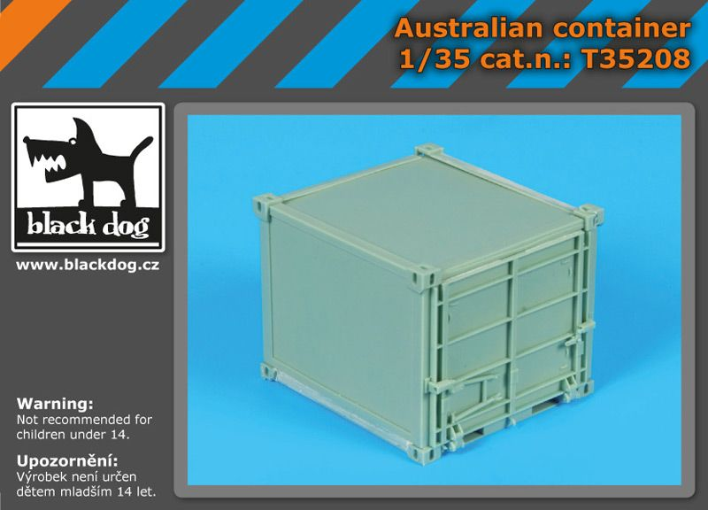 T35208 1/35 Australian container Blackdog