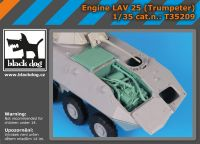 T35209 1/35 Engine LAV -25 (Trumpeter)
