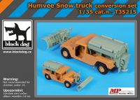 T35215 1/35 Humvee Snow truck conversion set