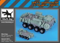 T35218 1/35 LAV C 2 accessories set
