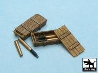 T48014 1/48 King Tiger ammo boxes