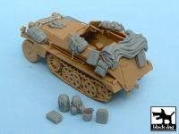 T48022 1/48 Sd.Kfz.250 accessories set Blackdog