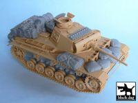 T48024 1/48 Pz.Kpfw.III Ausf L accessories set Blackdog