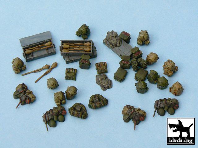 T48025 1/48 German equipment accessories set Blackdog