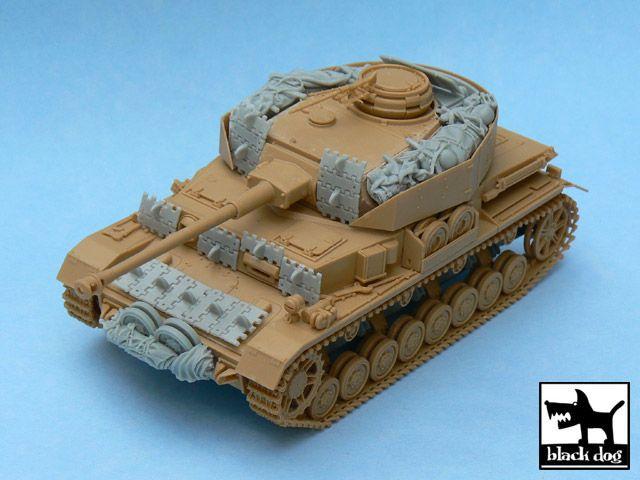 T48029 1/48 Pz.Kpfw. IV Ausf J accessories set Blackdog