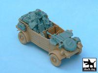 T48033 1/48 Kubelwagen accessories set Blackdog