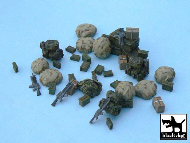 T48035 1/48 US modern equipment 1 accessories set Blackdog