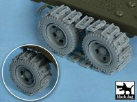 T48049 1/48 US 2 1/2 ton Cargo Truck Traction devices