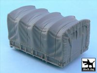 T48050 1/48 US 2 1/2 ton Cargo Truck cargo bay canvas