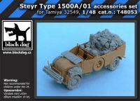 T48053 1/48 Steyr Type 1500A/01 accessories set Blackdog