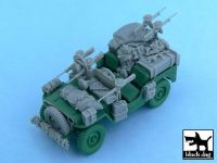 T48054 1/48 British SAS Jeep Europe 1944