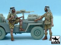 T48056 1/48 British SAS Jeep Crew Afrika (2 figures)