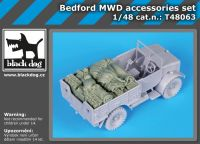 T48063 1/48 Bedford MWD accessories set