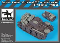 T48066 1/48 German Panzer 38t Ausf E/F accessories set